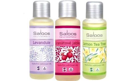Šetrné hydrofilní odličovací oleje Saloos!