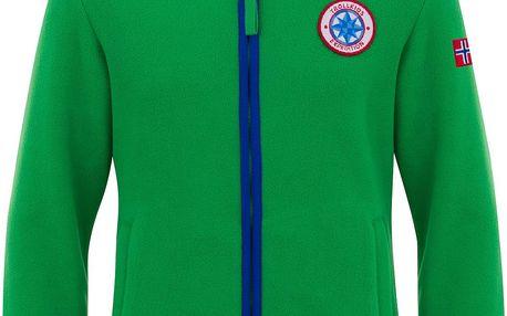 Chlapecká fleecová bunda/mikina - zelená