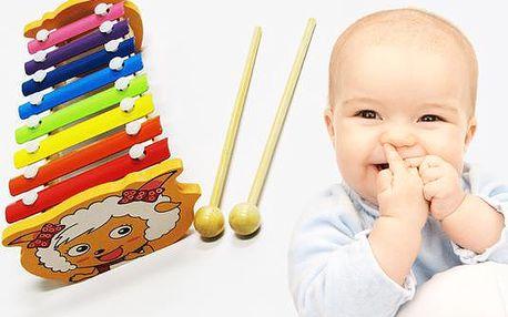Dětský xylofon
