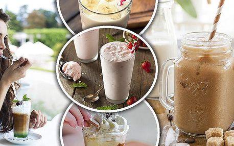 Dva vynikající ledové nápoje v Kavárně Makovička za cenu jednoho. Káva, frappé nebo mléčný koktejl!