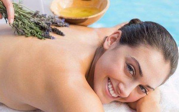 Levandulová masáž - voňavý relaxační zážitek