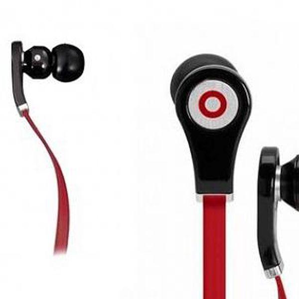 Luxusní sluchátka s PREMIUM plochým kabelem, který se nezamotává s možností příjmu hovoru!