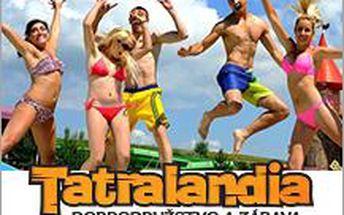TATRALANDIA - vodní ráj