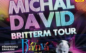 Brněnský narozeninový koncert MICHALA DAVIDA v rámci Britterm Tour 2015 s názvem Bláznivá noc.