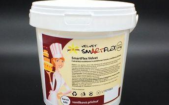 Smartflex velvet vanilka 1,4kg - potahovací hmota