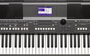 Workstation, aranžér, 61 kláves Yamaha PSR-S670