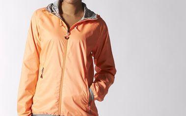 Adidas Everyday Outdoor Reversible Wind Jacket, oranžová, M