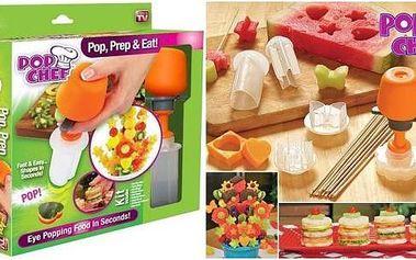 Pop Chef vykrajovátko na ovoce a zeleninu - bude z vás mistr hostitel!
