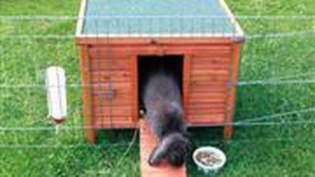 Trixie Dřevěný domek NATURA morče, králík 42x43x51cm