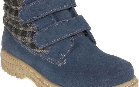 Chlapecké kotníkové boty - modré