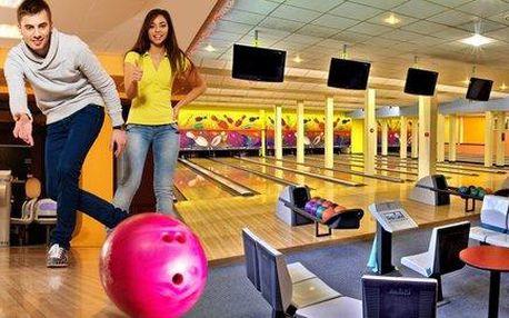 Pronájem bowlingové dráhy ve Sportcentru Duo na 60 min