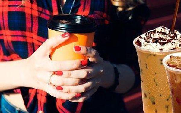 Coffee to go dle vlastního výběru z podniku Freshman