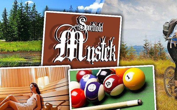 Pobyt pro jednoho na 3 dny s polopenzí, saunou a dalšími slevami v hotelu Můstek v Krušných horách!