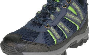 Chlapecké outdoorové boty - tmavě modré