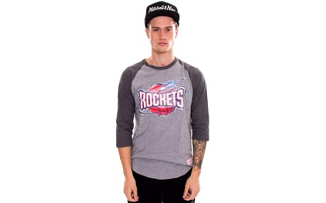 Triko Mitchell & Ness Team Logo Reglan Houston Rockets