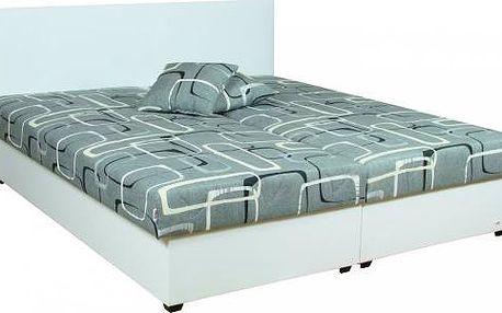 Celočalouněná postel s úložným prostorem