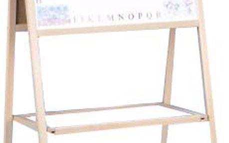 Tabule skládací A, dřevo, 44 x 90 cm