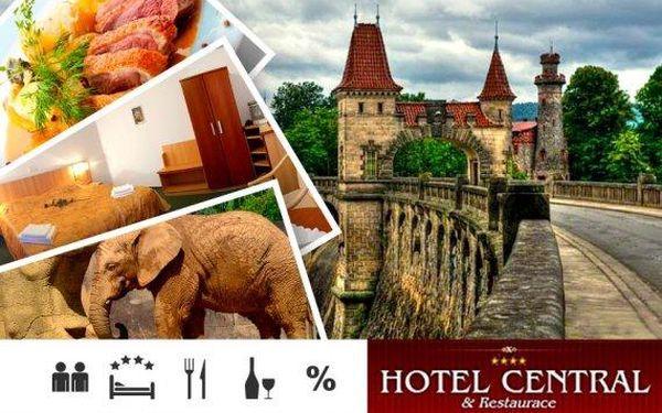 Dvůr Králové nad Labem – pobyt s polopenzí pro dva ve 4* hotelu