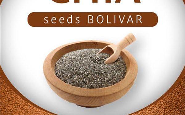 AWA superfoods Chia semínka BOLIVAR 500g