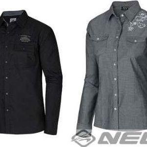 Pohodlné dámské i pánské košile české outdoorové značky Nell