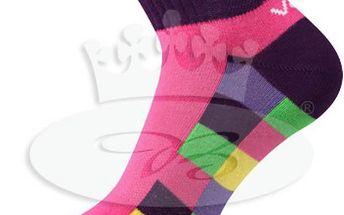 3 páry - Sportovní ponožky VoXX Kvadra!