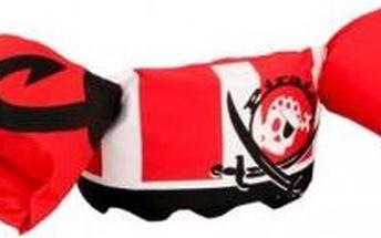 Plovací top PLAVÁČEK červený pirát ALUZZI 2000009561