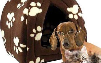 Skládací pelíšek pro domácí mazlíčky Pet Hut!