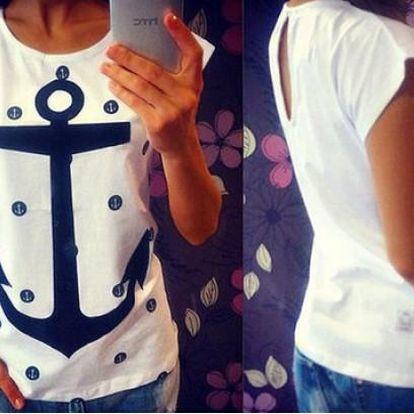 Dámské tričko s kotvou Taila!