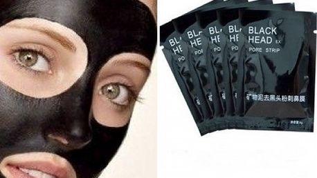 2x Black mask slupovací pleťová maska 6 g - zbavte se černých teček a nečistot!