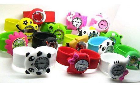 Roztomilé dětské hodinky se zvířátky - VÝPRODEJ!