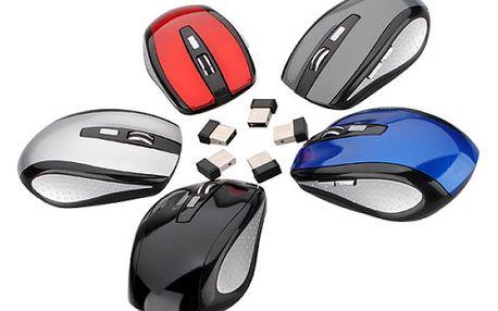 Bezdrátová optická myš - na výběr z 5 barev