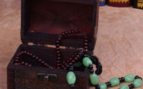 Dřevěná šperkovnice ve vintage stylu!