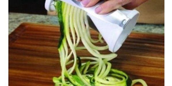 Kráječ pro zeleninové špagety!
