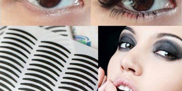 Nalepovací linky na oči - vždy dokonalé!