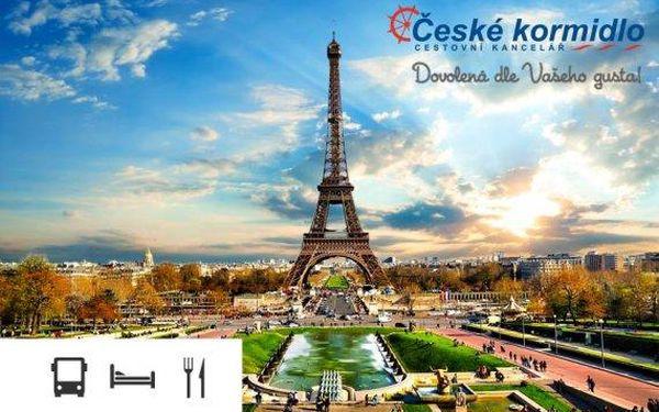 Kouzelná Paříž a Versailles – 5denní poznávací zájezd s ubytováním