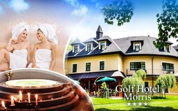 DÁMSKÁ JÍZDA v Golf hotelu Morris**** Mariánské Lázně! 3 dny pro 2 osoby s POLOPENZÍ a WELLNESS procedurami!
