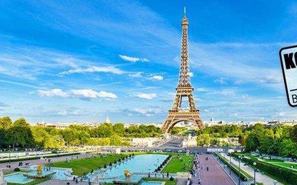5denní zájezd do Paříže, Versailles i Remeše vč. ubytování
