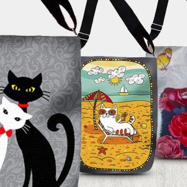 Designové nepromokavé kabelky