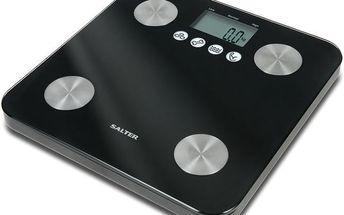 Osobní váha v černém designu Salter 9106 BK3R