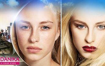 Kompletní 3hodinová PROMĚNA VIZÁŽE - nový STŘIH, BARVA i LÍČENÍ! Změňte svůj vzhled se vším všudy!