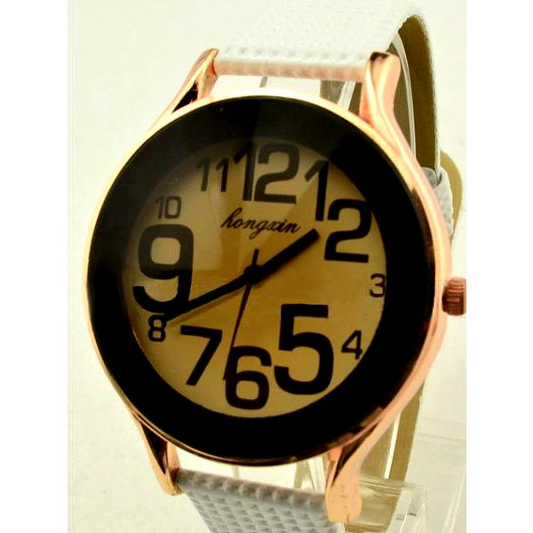 Náramkové hodinky s designovým ciferníkem - unisex, 2 barvy