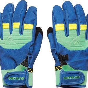 Quiksilver Method Gloves Bsg0, modrá, M