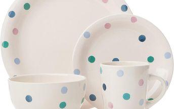 Porcelánový set Spots, 16 ks