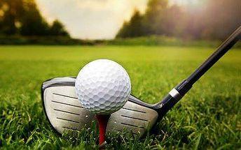 Golfový kurz: 15 tréninkových lekcí pro 2 osoby s profi trenérem