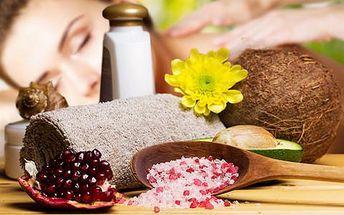 Relaxační masáž dle výběru - 18 druhů