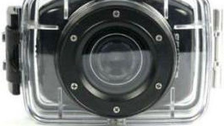 Full HD kamera pro kvalitní zachycení sportovních výkonů.