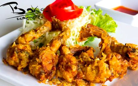 Půl kila žabích stehýnek v balkánské restauraci Boka