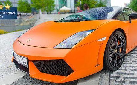 Jízda v Lamborghini Gallardo jako řidič i spolujezdec