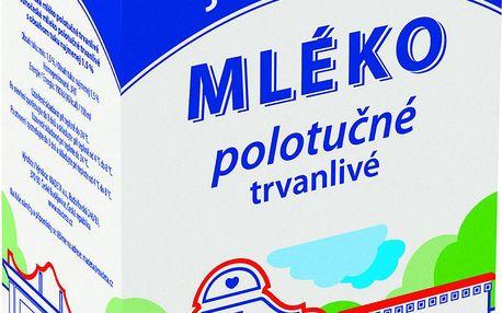 Madeta Madeta Jihočeské Mléko polotučné trvanlivé 1,5% 1l