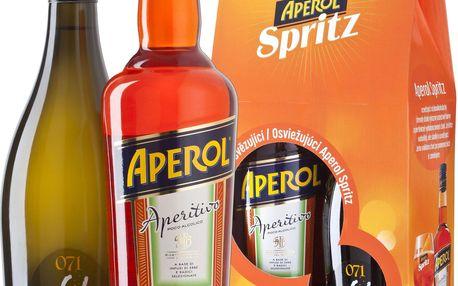 Aperol Aperol Aperitiv 0,7l + Prosecco 0,75l
